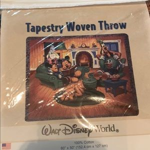 Disney Christmas throw